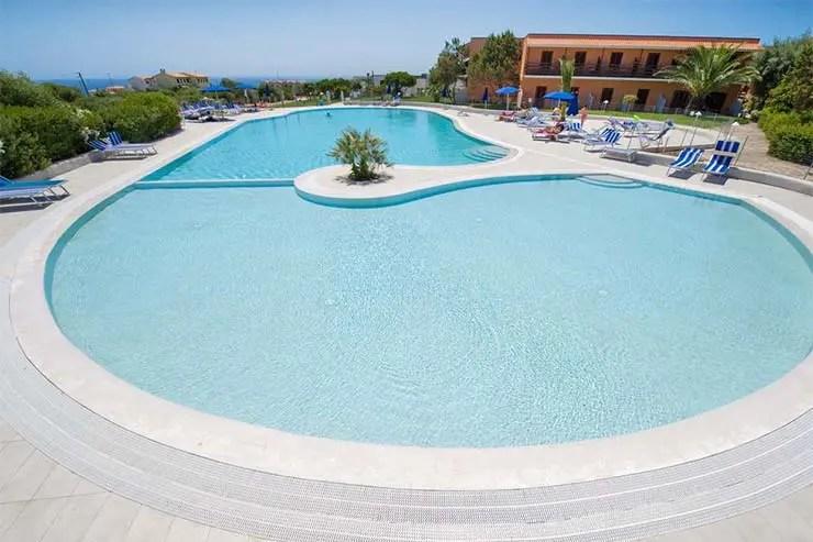 Praia La Pelosa, Itália - Hotel Cala Reale (Foto: Divulgação)
