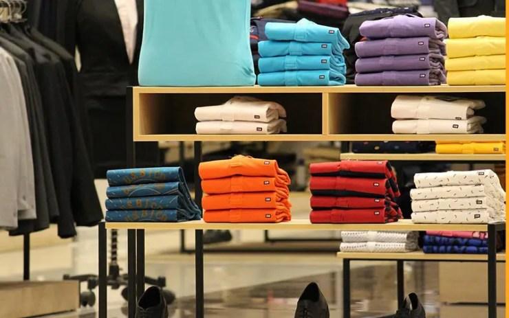Tamanhos de roupas nos EUA x Brasil
