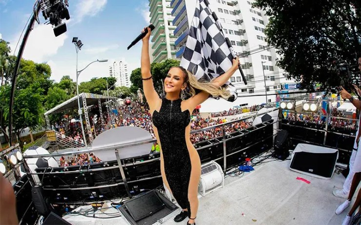 Blocos do Carnaval de São Paulo - Claudia Leitte (Foto: Reprodução/Site Oficial)