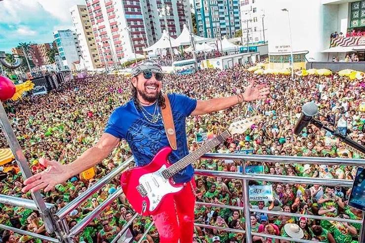 Blocos do Carnaval de São Paulo neste fim de semana (Foto: Reprodução/Facebook/Bell Marques)
