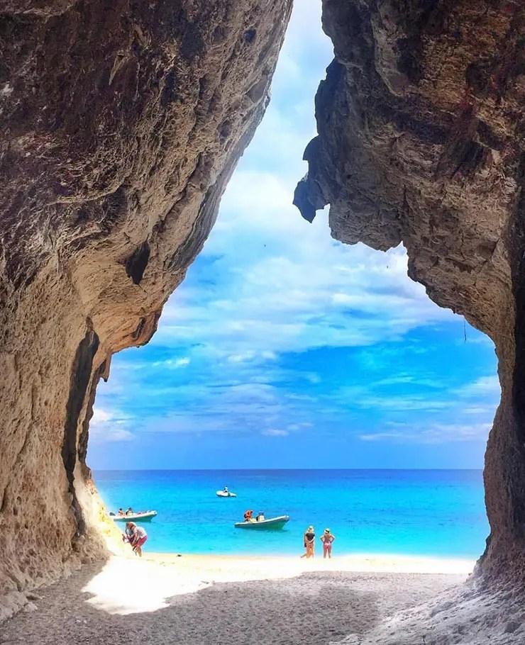Melhores praias da Itália - Cala Luna - Sardenha (Foto: Esse Mundo é Nosso)