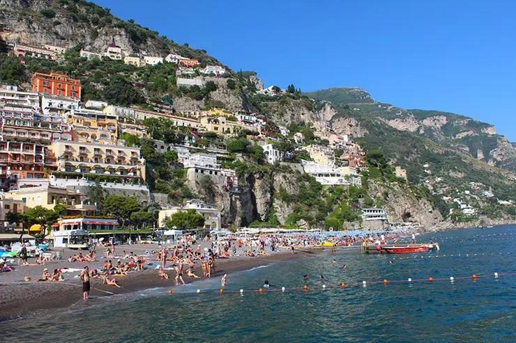 Melhores praias da Itália - Positano (Foto: Esse Mundo é Nosso)