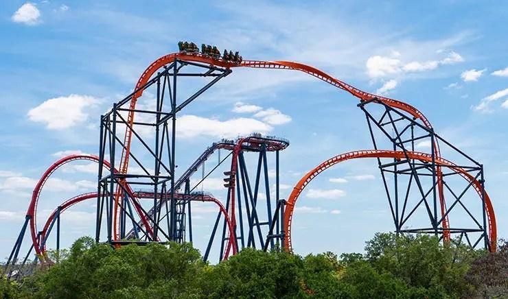 Tigris: A nova montanha-russa do Busch Gardens (Foto: Divulgação)