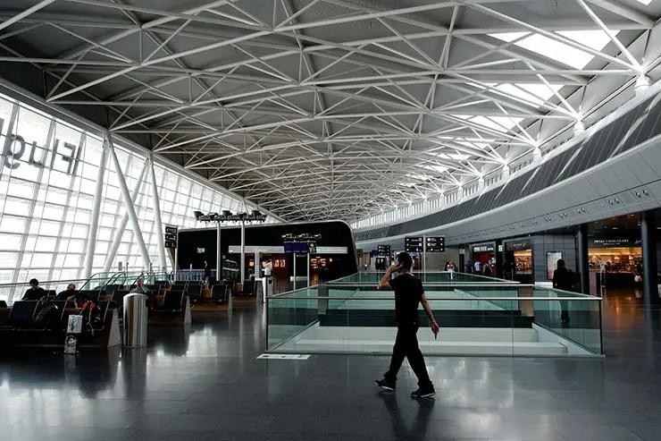 Foto do aeroporto - Como é a imigração em Zurique, Suíça