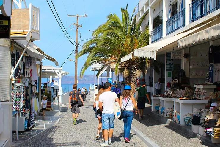 Fira em Santorini (Foto: Esse Mundo É Nosso)