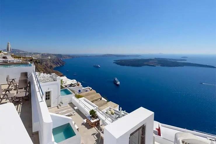 Onde ficar em Santorini - Imerovigli - Vista Mare Suites (Divulgação/Booking)