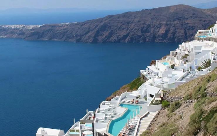 Onde ficar em Santorini (Foto: Esse Mundo É Nosso)