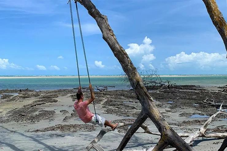 Mangue seco em Guriú (Foto: Esse Mundo é Nosso)