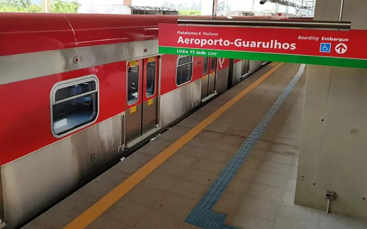 CPTM amplica horários de trens do Brás para Guarulhos (Foto: Esse Mundo É Nosso)