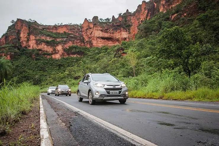 Caravana Honda na Chapada dos Guimarães (Foto: Divugação/Honda)