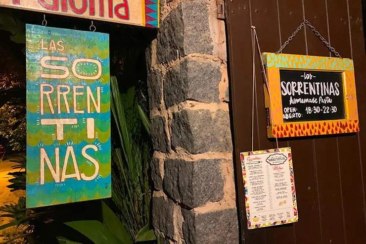 Las Sorrentinas em Ilha Grande (Foto: Esse Mundo é Nosso)