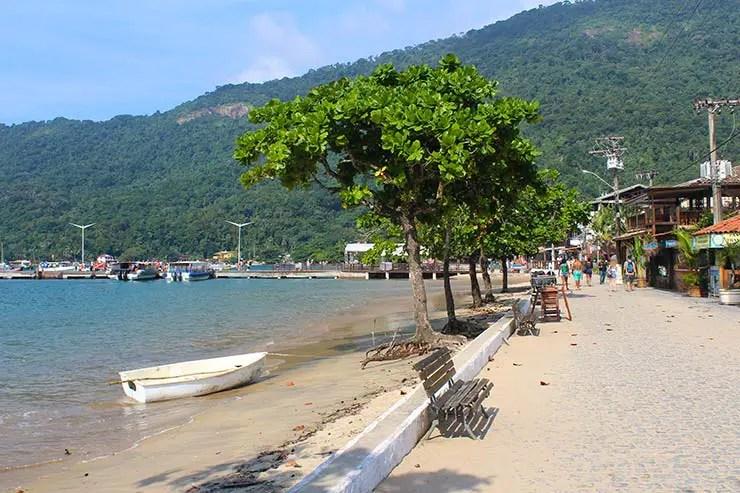 Melhores praias da Vila do Abraão (Foto: Esse Mundo É Nosso)