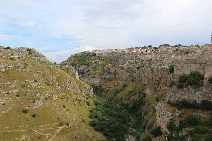 Matera,  na Itália (Foto: Esse Mundo é Nosso)