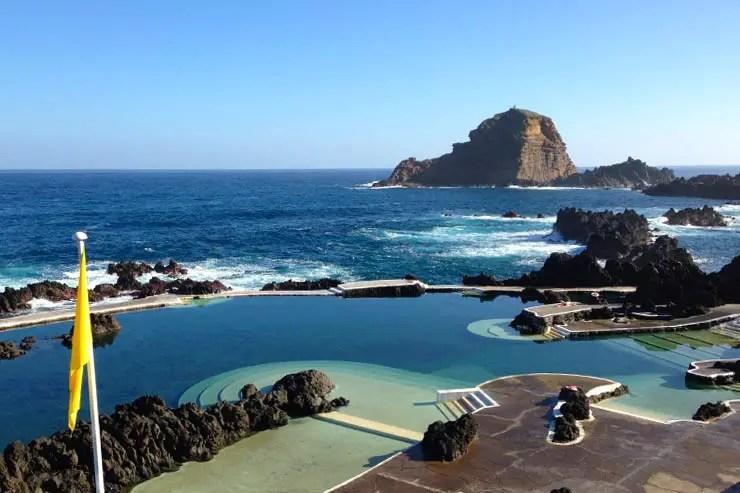 Onde ficar na Ilha da Madeira - Porto Moniz (Foto: DIvulgação)