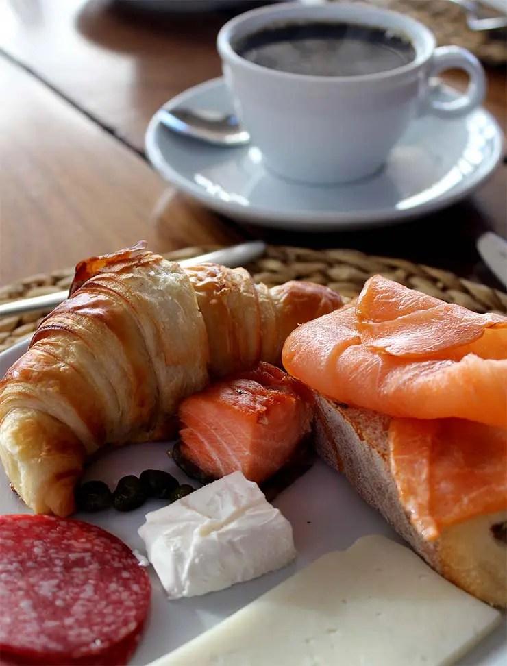 Café da manhã do Tierra Atacama (Foto: Esse Mundo É Nosso)