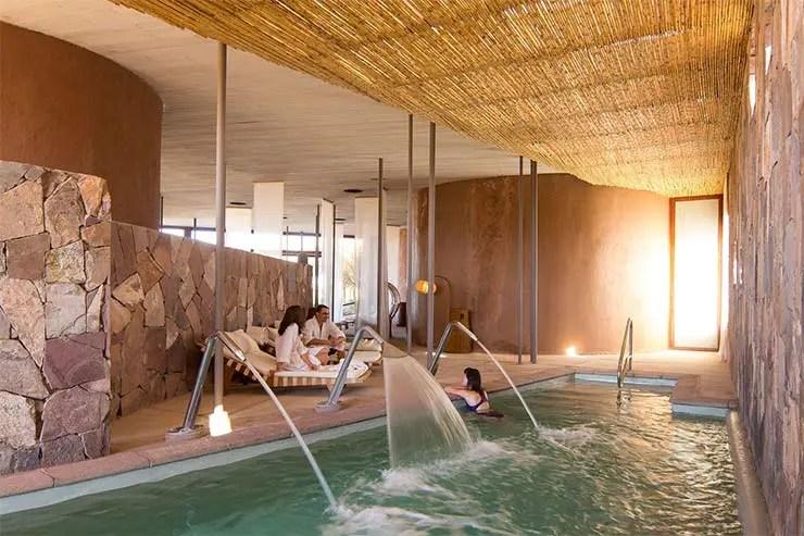 Piscina aquecida do Spa (Foto: Divulgação)