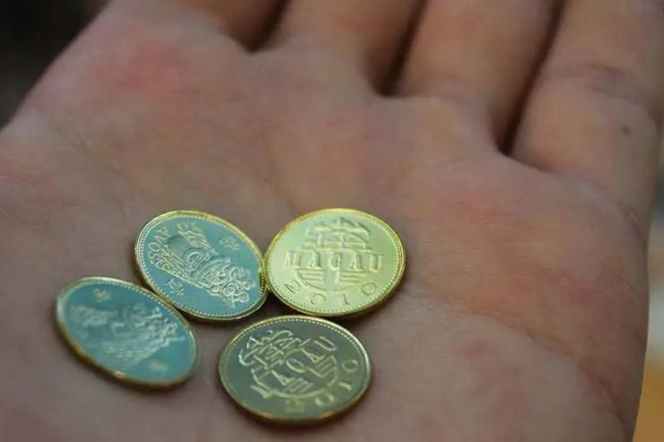 Pataca, a moeda de Macau (Foto: Esse Mundo É Nosso)