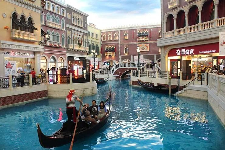 The Venetian em Macau (Foto: Esse Mundo É Nosso)