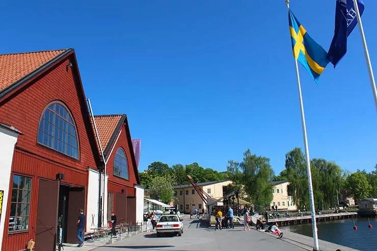 Região de Djurgårde, Estocolmo (Foto: Esse Mundo É Nosso)