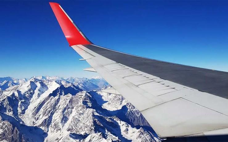 Voo para Santiago sobre os Andes - Precisa de passapote para o Chile? (Foto: Esse Mundo É Nosso)
