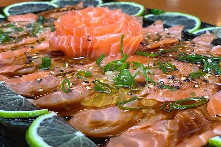 Carpaccio de salmão (Foto: Esse Mundo é Nosso)