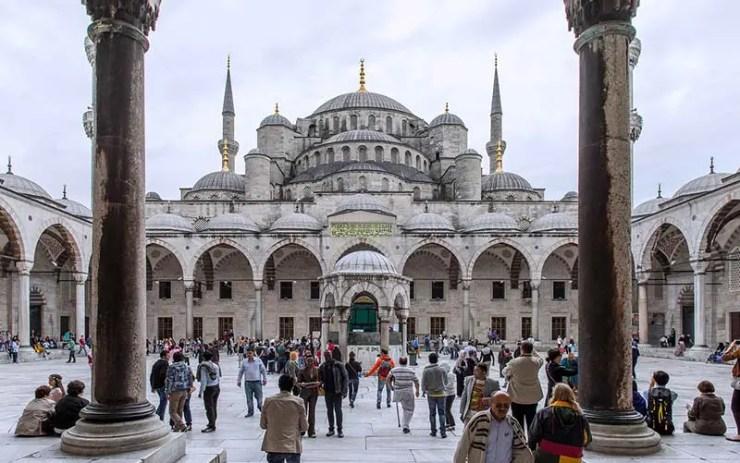 Aya Sofia em Istambul: Como é a imigração na Turquia