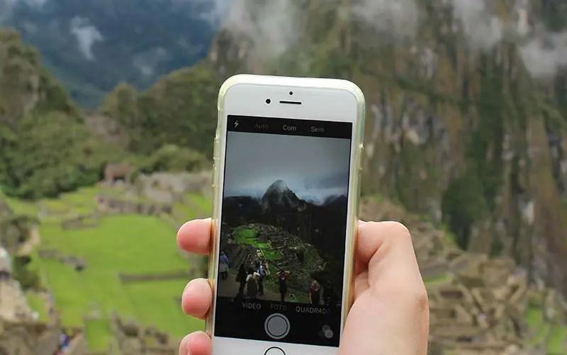 Mysimtravel é bom? Foto de quando usamos em Machu Picchu