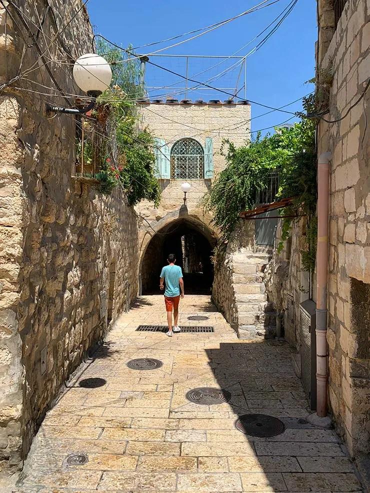 Cidade Antiga em Jerusalém (Foto: Esse Mundo é Nosso)