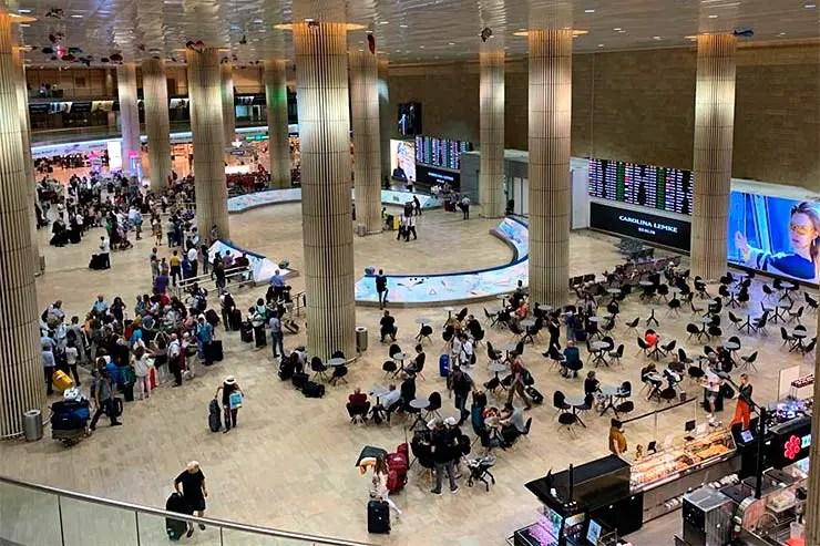 Aeroporto de Tel Aviv (Foto: Esse Mundo é Nosso)