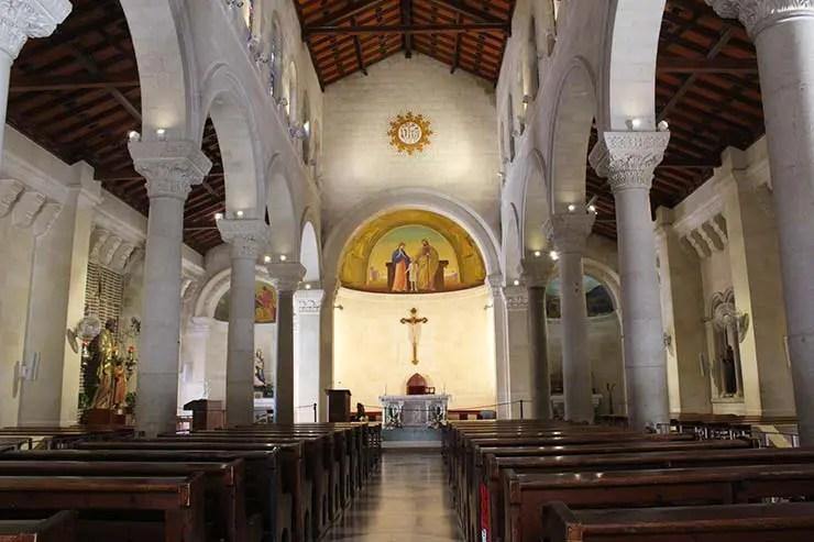 Igreja de São José, em Israel (Foto: Esse Mundo é Nosso)