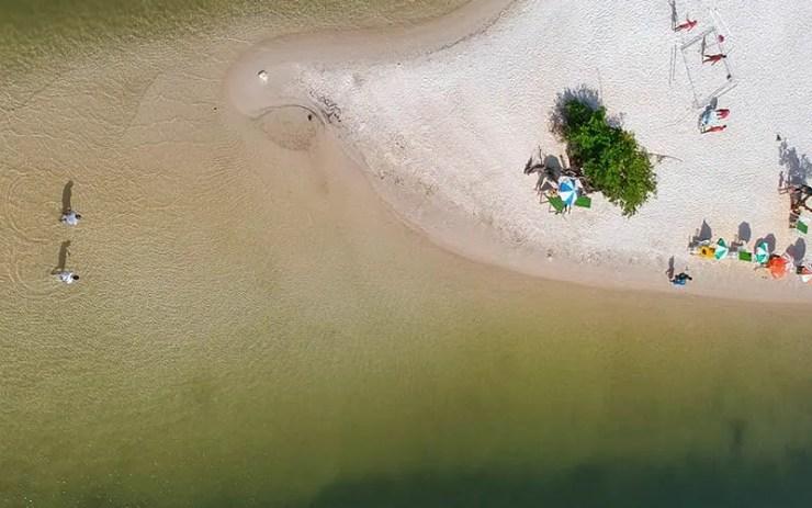 Ilha do Amor em Alter do Chão (Foto: Alessandra Fratus/Tô Pensando em Viajar)