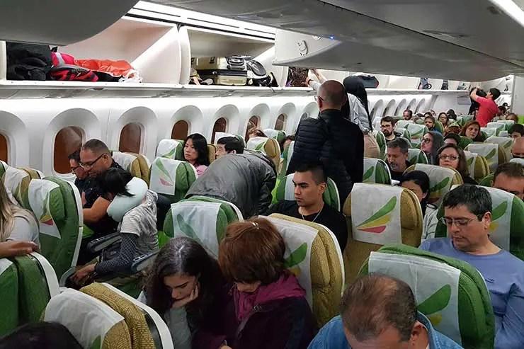 Boeing 787 da Ethiopian Airlines (Foto: Esse Mundo É Nosso)