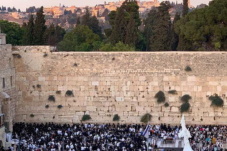 Muro das Lamentações (Foto: Esse Mundo é Nosso)