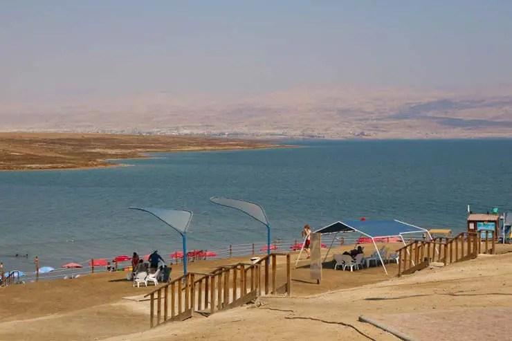 Mar Morto em Israel (Foto: Esse Mundo é Nosso)