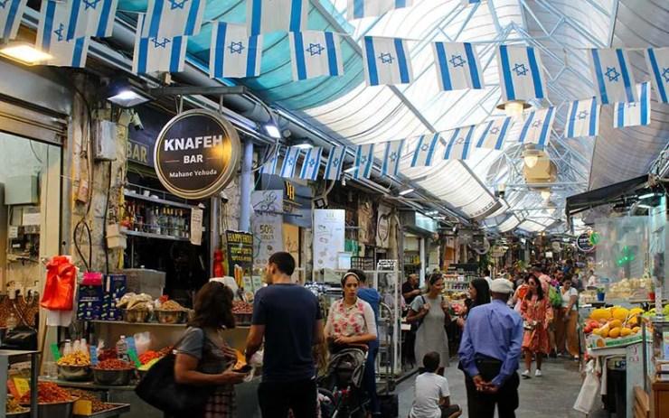 Mahane Yehuda Market - Mercado em Jerusalém (Foto: Esse Mundo É Nosso)
