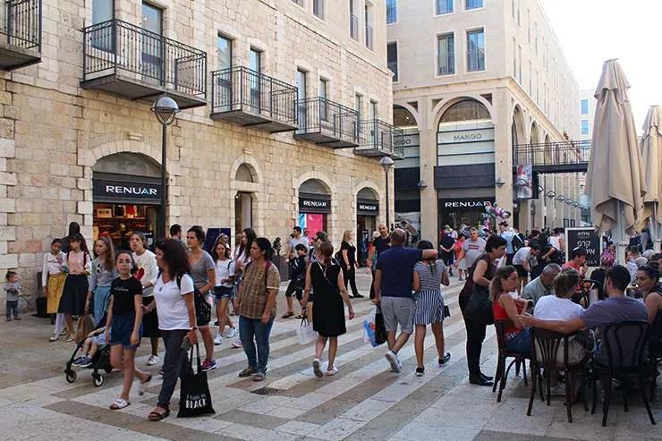 Onde ficar em Jerusalém - Shopping em Mamilla (Foto: Esse Mundo É Nosso)