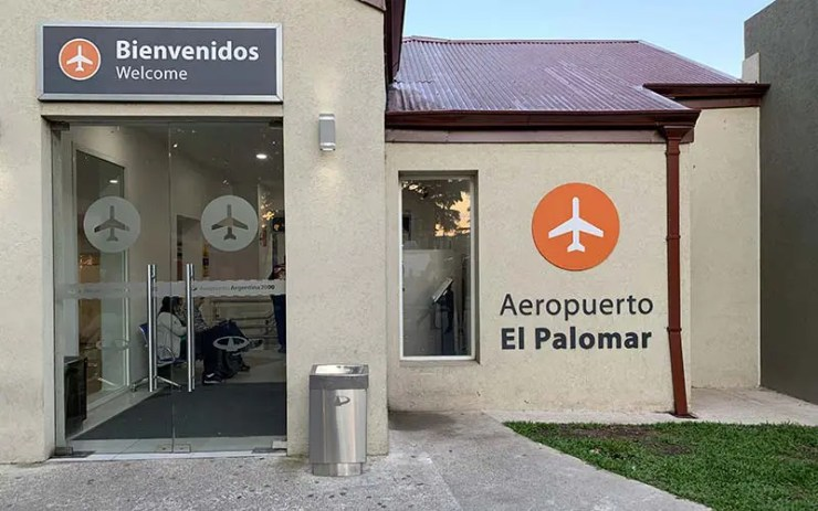 Aeroporto El Palomar em Buenos Aires (Foto: Esse Mundo É Nosso)