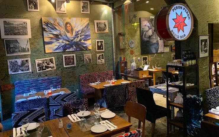 Restaurante Perón Perón em Buenos Aires (Foto: Esse Mundo é Nosso)