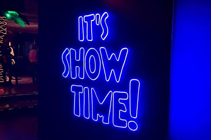 It's show time! (Foto: Esse Mundo é Nosso)