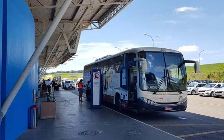 Ônibus do Conexão Aeroporto (Foto: Esse Mundo É Nosso)