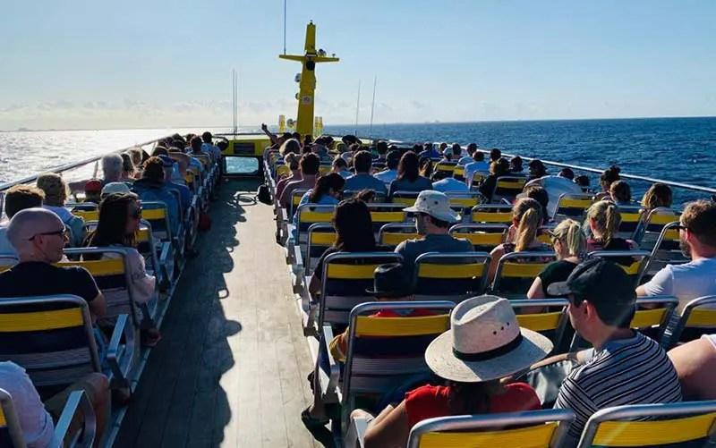 Ferry da Ultramar para Cozumel (Foto: Esse Mundo É Nosso)