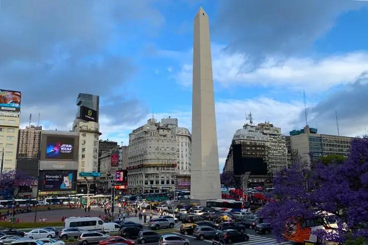 Vista do Obelisco (Foto: Esse Mundo é Nosso)