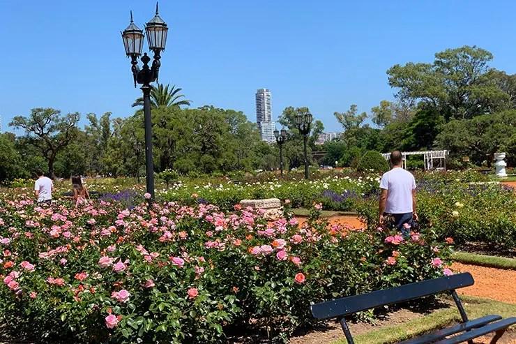 El Rosedal em Buenos Aires (Foto; Esse Mundo é Nosso)