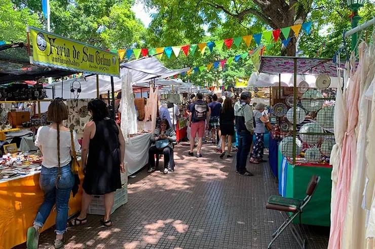 Feira de San Telmo em Buenos Aires (Foto: Esse Mundo é Nosso)