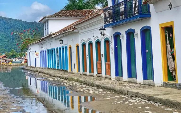 Rua de Paraty (Foto: Esse Mundo É Nosso)