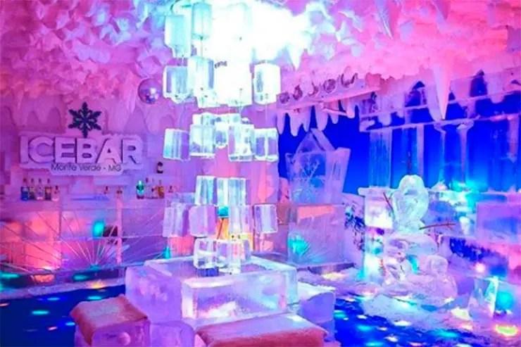 Ice Bar em Monte Verde (Foto: Esse Mundo é Nosso)