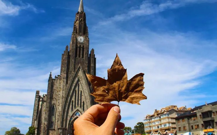 Gramado ou Canela: Catedral de Pedra (Foto: Esse Mundo É Nosso)