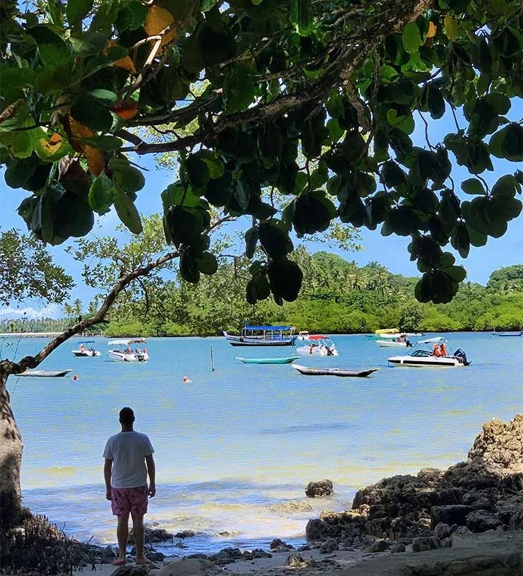 Praia de Moreré em Boipeba, Bahia (Foto: Esse Mundo É Nosso)