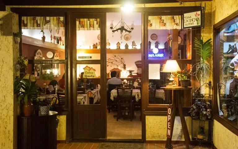 Restaurantes em Monte Verde: Villa Donna (Foto: Divulgação)