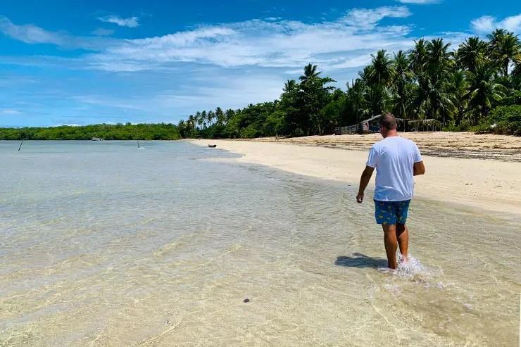 Praia de Bainema em Boipeba (Foto: Esse Mundo É Nosso)